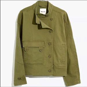 Madewell Felton Military Field Jacket Army Green XXL